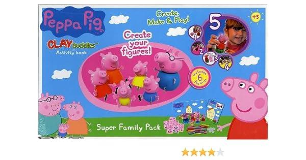 Peppa Pig Crea Con Plastilina - Family Pack: Amazon.es: Juguetes y ...