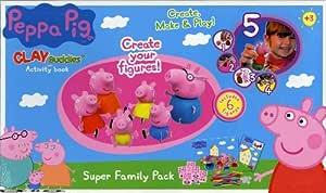 Peppa Pig Crea Con Plastilina - Family Pack: Amazon.es: Juguetes y juegos