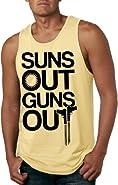 Suns Out Guns Out Tank Top Funny Summer Muscles Shirt Sleeveless Tee