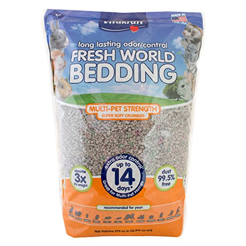 Vitakraft Fresh World Multi-Pet Strength Crumble Bedding for Small (Vitakraft Small Animal)