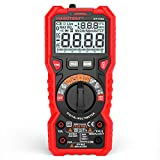 Walmeck HABOTEST HT118A Digital Multimeter Auto Range Multi-Meter 6000 Counts True RMS Measuring AC/DC Test Diode with LCD Backlight Flashlight