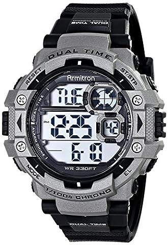 Armitron Sport Men's 40/8309GRY Sport Watch (Armitron Sports 50)