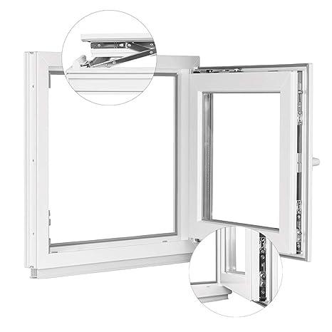 600 x 900 mm Winkhaus Beschlag Isolierglas DIN Links Kellerfenster Kunststoff Fenster Dreh Kipp 60 x 90 cm