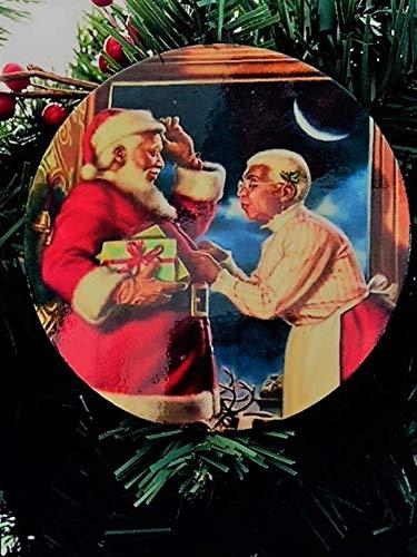 (Black Santa Claus Christmas)