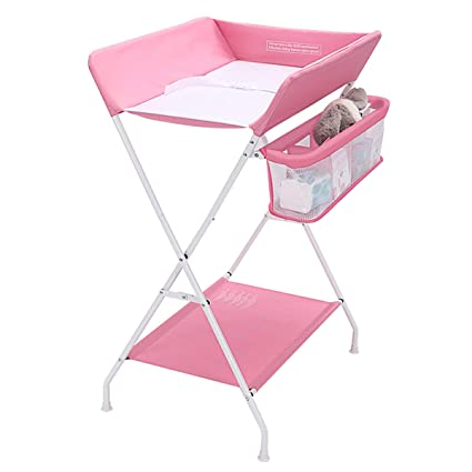 Mesa de pañales plegable para bebés, mesa de masaje para recién ...
