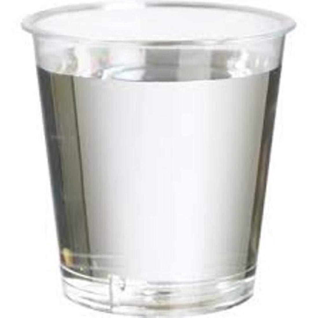 25ml Plastic Shot Glasses (Pack of 100) Plastic Test Tubes LTD