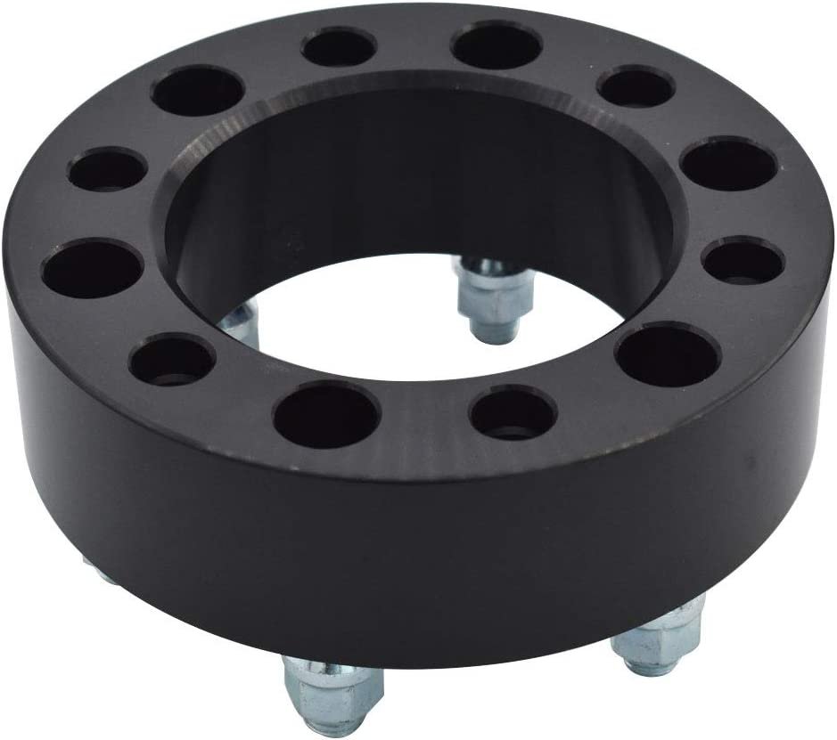 labwork 4Pcs 2 6 Lug 6x5.5 Wheel Spacers Adapters fit for Chevy Silverado 1500 Suburban
