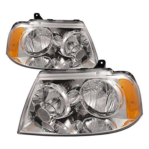 - HEADLIGHTSDEPOT Compatible with FRONT HEADLIGHT Lincoln Navigator HEAD LIGHT SET