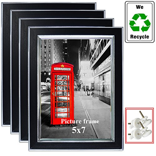Spring Photo Gallery (5x7 Multi Picture Frames Collage Photo Frame Wall Set of 4)