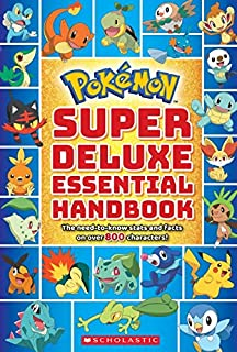 Pokémon Deluxe Essential Handbook: The Need-to-Know Stats and Facts