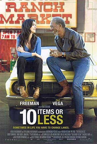 10 Items or Less Poster Movie C 11x17 Morgan Freeman Paz Vega Jonah Hill Anne Dudek