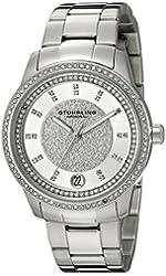 Stuhrling Original Women's 794.01 Symphony Analog Display Quartz Silver Watch
