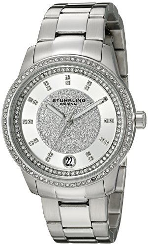 Stuhrling Original Women's 794.01 Symphony Analog Display Quartz Silver Watch