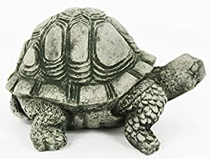 Turtle Concrete Statue Cement Animal Garden Statue Turtles Figurines Back  Yard Art