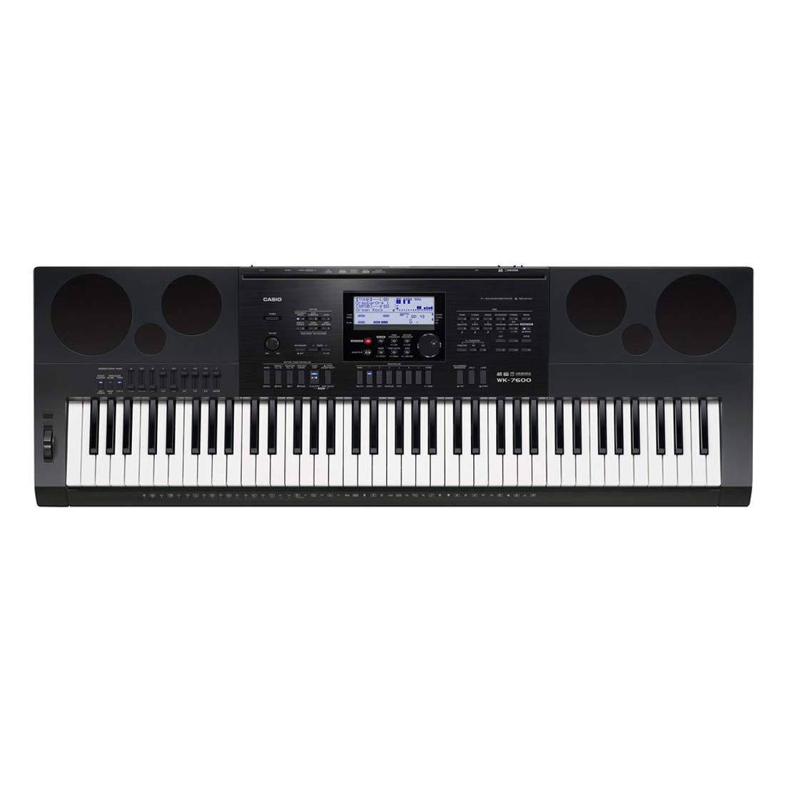 Keys Of Casio WK 7600