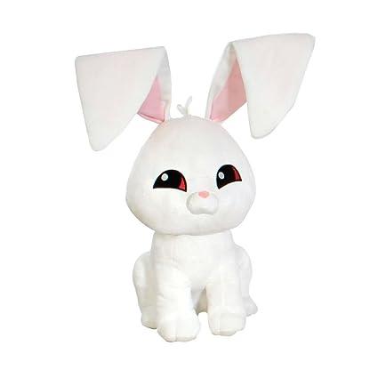 Amazon Com Animal Jam Soft White Bunny Plush Toys Games