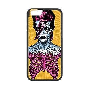 Zombie Series,iPhone 6 Plus Case,Zombie Skeleton Phone Case For iPhone 6 Plus[Black]