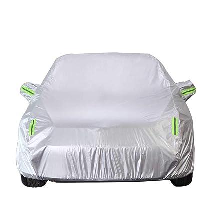 Autoabdeckung Kompatibel mit Volvo XC90 SUV Auto Car Cover Silber Protector Allwetter-Schutz Auto Full Cover Regen und Sonne und staubdicht Car Cover Outdoor Indoor wasserdicht atmungsaktiv