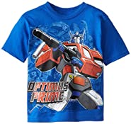 Transformers Boys' Optimus Prime T-Shirt