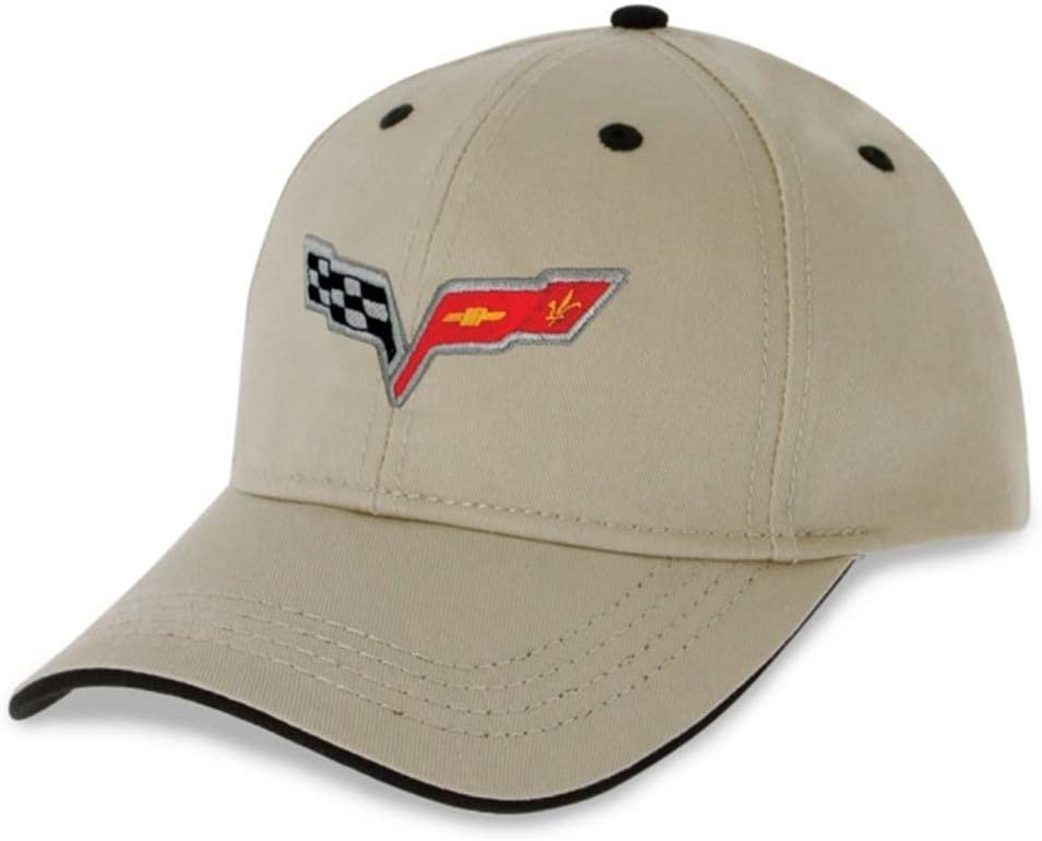 C6 Corvette Heritage Hat Embroidered Stone