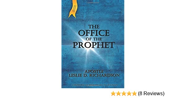 Amazon com: The Office of the Prophet (9781629948041): Apostle