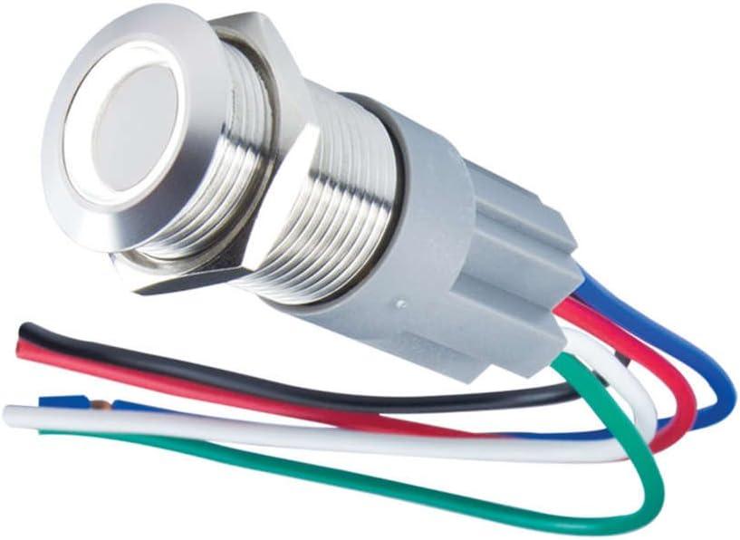 [DIAGRAM_38YU]  Amazon.com: Oracle Lighting 2012-001 Flush Mount LED Switch: Automotive | Oracle Switch Wiring |  | Amazon.com