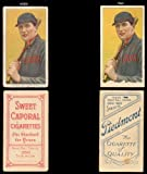 1909 t206 tobacco (baseball) Card# 504 vic willis with bat of the St. Louis Cardinals Fair Condition