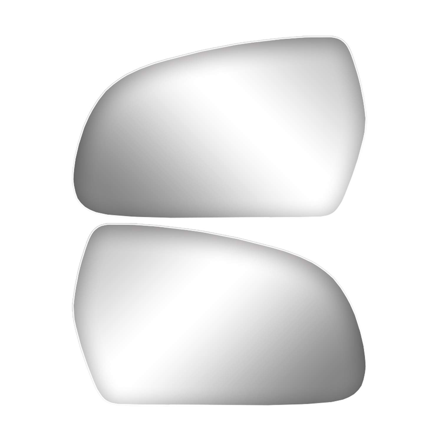BPW419 Side Mirror Wide Glass For Audi A4 B8 2009 Left And Right 1set Brotherp