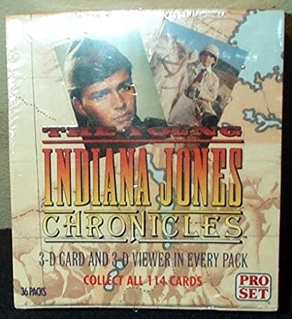 The Young Indiana Jones Chronicles Trading Cards Box -36 Count by ProSet: Amazon.es: Juguetes y juegos