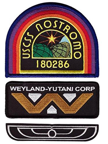 Alien Weyland Nostromo Costume Uniform