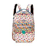 Kipling Large Backpack bag With Laptop Protection stars