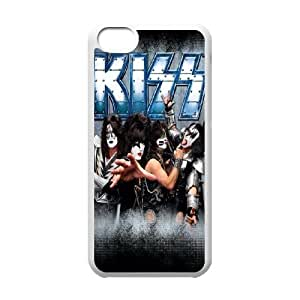 High Quality -ChenDong PHONE CASE- For Iphone 5c -Popular KISS Band Pattern-UNIQUE-DESIGH 14