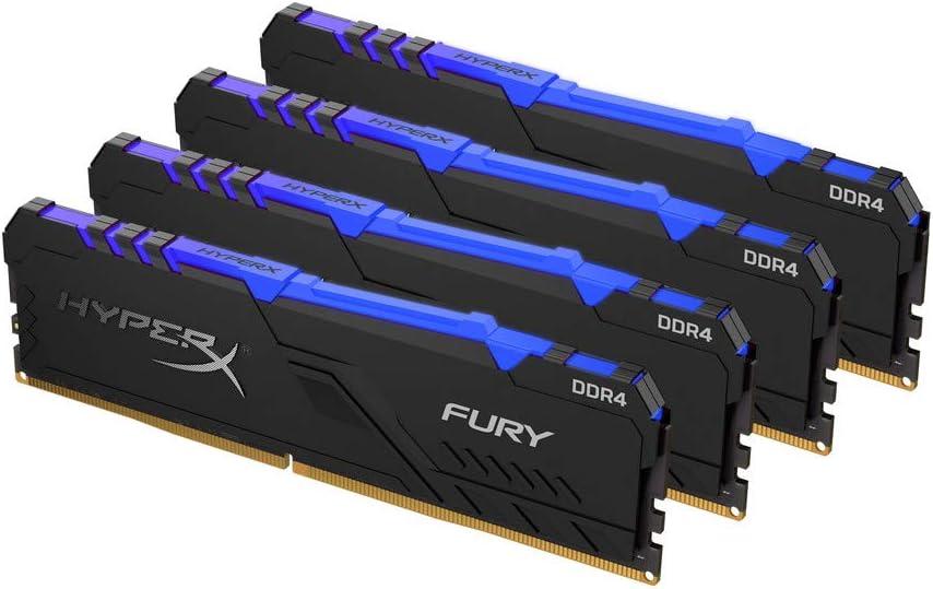 HyperX Fury HX432C16FB3AK2//16 DIMM DDR4 Kit 2 x 8 GB 16 GB 3200 MHz CL16 1Rx8 RGB