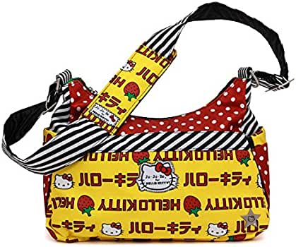 Amazon.com: Ju-Ju-Be Womens Hello Kitty Hobo Be, talla única ...