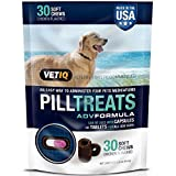 VetIQ Pill Treats Soft Chews for Dogs, Chicken Flavored 30 ea (Pack of 3)