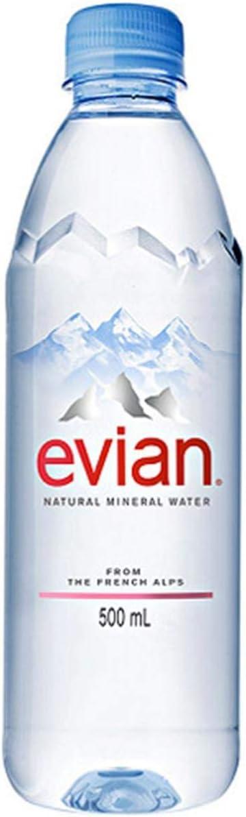Agua Mineral Evian Pet 500ml por evian