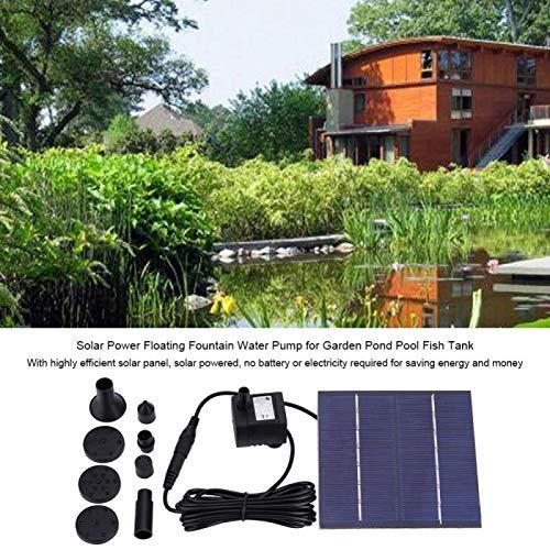 Pumps - 1 Solar Power Floating Fountain Water Pump Garden Pond Pool Fish Tank Tool - Urine Sudor Heart Irrigate Lachrymal Secretion Lacrimal Perspiration Body Weewee Hidrosi - 1PCs
