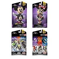 Disney Infinity 3.0 Edition: Paquete de expansión de juegos de Mickey y Minnie - Exclusivo de Amazon