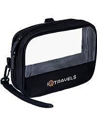 Toiletry Bag - Tsa Approved Toiletry bag - Mens Toiletry Bag - Small Travel Toiletry bag - Clear Toiletry Bag For Women - Airline Approved Toiletry Bag For Ladies - Waterproof Shaving Bag For Men