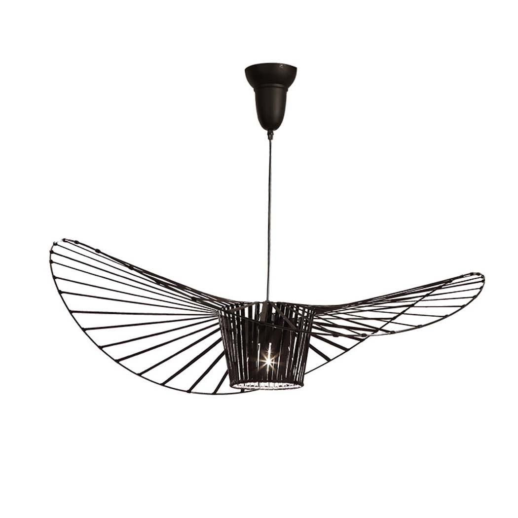 /φ24cm haute 72cm E27 Singe Lustre R/étro Mode Chanvre Acrylique Plafonnier Art Chambre Lampe /à Manger Lampe D/étude Lumi/ère Pendante non inclus