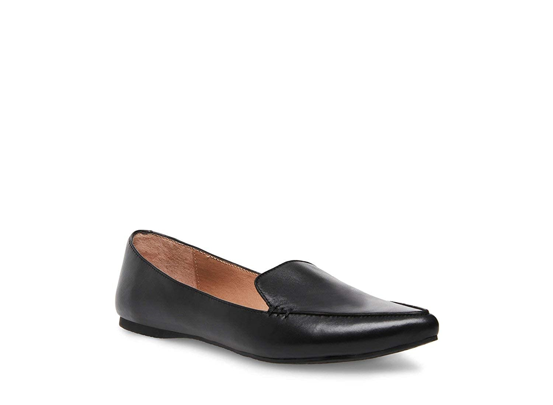 9a98c4d5423 Steve Madden Women's Feather Loafer Flat