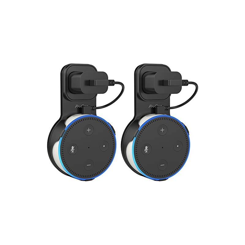 ProCase Amazon Echo Dot Wall Mount Outle
