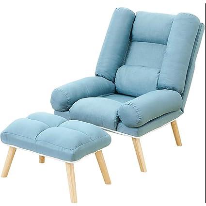Sofá Pequeño De Lazy Couch con Sofá Pequeño Y Reposapiés ...