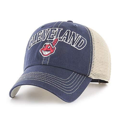 Indians Baseball Cleveland Display (Fan Favorite MLB Cleveland Indians Aliquippa Adjustable Hat)