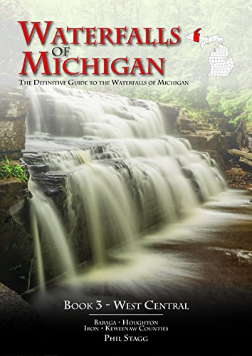 Waterfalls of Michigan - Book 3  West Central