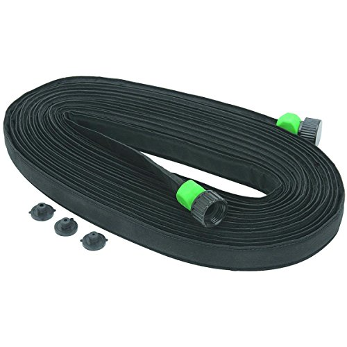 One Stop Gardens FBA_97193 3/4 in. x 50 ft. Flat Seeper Soaker Hose