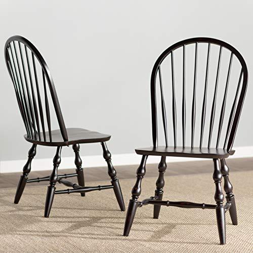 Sunset Trading DLU-C30-AB-2 Windsor Dining Chair Set, 41
