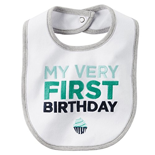 Carters Boys First Birthday White