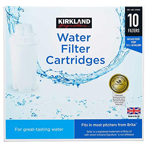 Kirkland Signature Water Filter Cartridge (Fits And Performs In Pitchers from Brita and PUR) by FCV