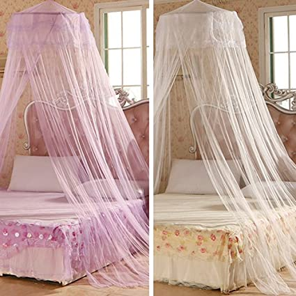 House Bedding Decor Summer Sweet Style Round Bed Canopy Dome Mosquito Net White yanQxIzbiu Bed Canopy Mosquito Net for Kids Baby